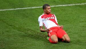 Monacoyu sırtlayan Mbappe, Arsenalde