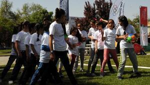 Gaziantepte Olimpik Gün şenliği yapıldı