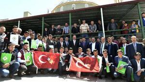 Mamakta 66 genç törenle vatani görevine uğurlandı