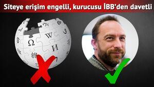 Wikipediaya erişim engeli sürüyor, kurucusu İBB davetiyle geliyor