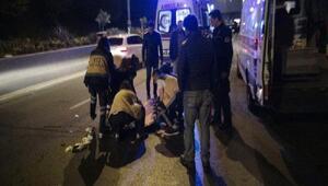 Bağcılarda aracın çarptığı yaya ağır yaralandı