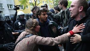 32 polis yaralandı 72 kişi gözaltına alındı