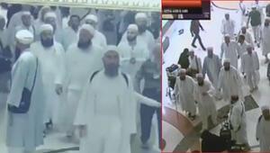 Mekkedeki cemaat kavgasının ilk görüntüleri ortaya çıktı