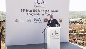 Kuzey Marmara Otoyoluna 6 bin fidan dikildi