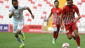 Sivas Belediyespor-Amed Sportif: 1-1