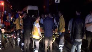 Bağcılarda trafik kazası: 3ü ağır 5 yaralı