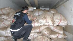 Yılın ilk 4 ayında 130 ton kaçak çay ele geçirildi