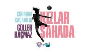 İyi futbol için Kızlar Sahada