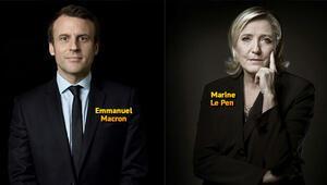 Macron seçime yüzde 62 destekle giriyor