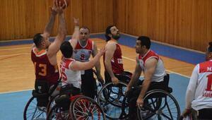 Kardemir Karabükspor Tekerlekli Sandalye-Galatasaray:66-65