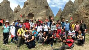 Adanalı doğaseverlerin Kapadokya keyfi