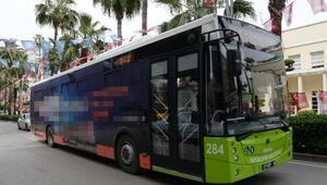Otobüslere alınan reklam tartışma konusu oldu