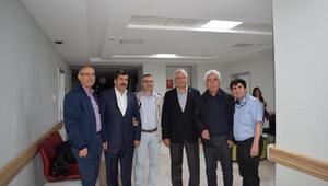 Erdoğandan Anka Hastanesine ziyaret