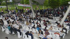 Büyükşehirden 9 farklı bölgede 12 bin kişiye iftar yemeği