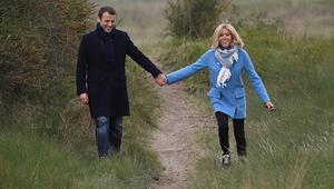 Fransanın yeni Cumhurbaşkanı eşinin 25 yaş büyük olmasıyla ilgili ilk kez konuştu