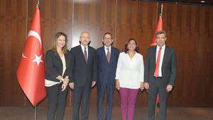 Kılıçdaroğlu, Avrupa Sosyalist ve Demokratlar Grubu heyetiyle bir araya geldi (2) - (Yeniden)