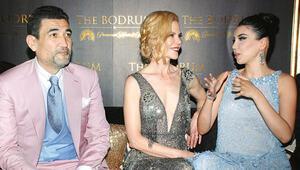 Nicole Kidman geldi, para bastı, gitti