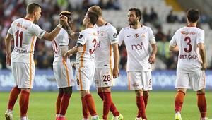 Galatasaraydan Antepte kritik galibiyet