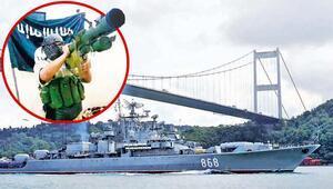 İstanbul Boğazında füzeli saldırı alarmı