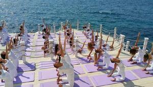 Antalya Kemerde Uluslararası Yoga Festivali