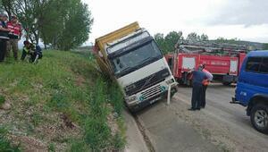Tokatta trafik kazası: 1 ölü, 1 yaralı