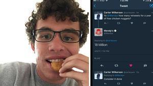 Nugget sevgisi, Oscar selfiesini yendi