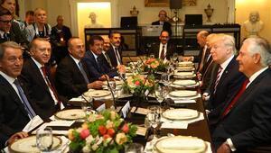 Erdoğandan Beyaz Saray mesajları: PYD/YPG terör örgütünün muhatap alınması uygun değildir