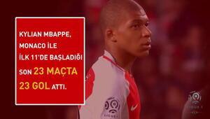 Mbappe, Ligue 1'de yılın genç oyuncusu seçildi