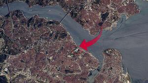 Fransız astronot uzaydan İstanbulu görüntüledi