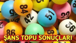 Şans Topu çekiliş sonuçları açıklandı – 17 Mayıs Şans Topu sonucu bilet sorgulama