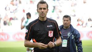 Beşiktaş-Kasımpaşa maçını Serkan Çınar yönetecek