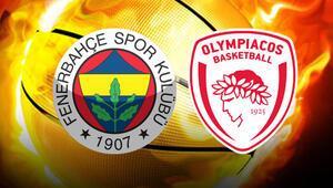 Fenerbahçe Olympiakos final maçı ne zaman saat kaçta hangi kanalda canlı olarak yayınlanacak