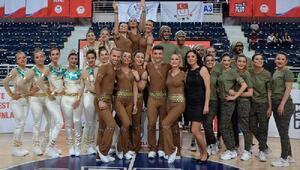 PAÜ cimnastikte çifte kupa kazandı