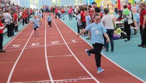 600 engelli sporcu Frankfurt'ta yarıştı