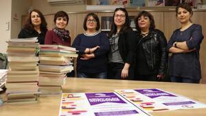 Kadın mühendisler, okullara kütüphane için kolları sıvadı