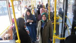 Ağrı belediyesinden kadınlara kültür gezisi
