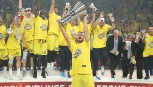 Fenerbahçe Basketbol Takımı Avrupa şampiyonu Fenerbahçe 80-64 Olympiakos