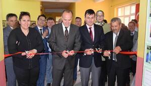 Babaeski, Sinanlı köyünde el sanatları sergisi açıldı