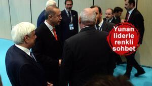 Cumhurbaşkanı Erdoğanla Yunanistan Cumhurbaşkanı arasında Fenerbahçe diyaloğu