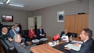 Basın Konseyinden Sözcü Gazetesine dayanışma ve destek ziyareti