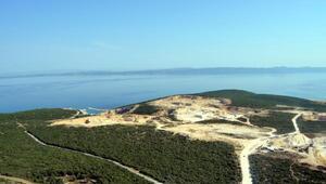 İşte, Saros Körfezinde çevreyi katleden kalker ve taş ocakları