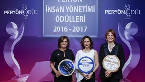 PERYÖN 'İnsan Yönetimi Ödülleri' sahiplerini buldu