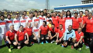 Vanda gönül köprüsü futbol turnuvası finali yapıldı