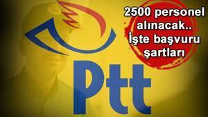 PTT personel alımında sürpriz gelişme: PTT'ye 2500 alım daha yapılacak