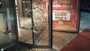 Hürriyete saldırı: Polisler: Onlar 200, biz 8 kişiydik