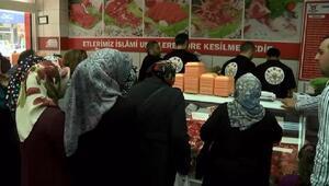 Et ve Balık Kurumu mağazaları önünde ucuz et yoğunluğu