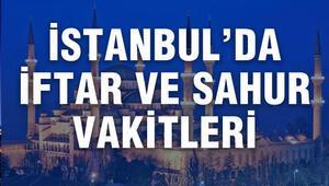 İstanbulda bu akşam iftar saat kaçta açılacak İşte İstanbul iftar saati ve 2017 Ramazan imsakiyesi