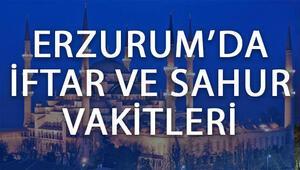 Erzurumda iftar saat kaçta başlayacak Erzurum 2017 İmsakiye