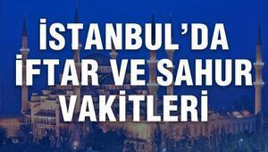 İstanbulda iftar saat kaçta açılacak İstanbul 2017 Ramazan imsakiyesi