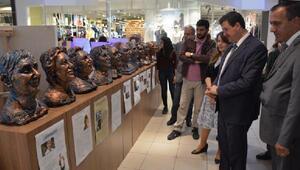 Eskişehir Fatih Fen Lisesinin sergisi ilgi gördü